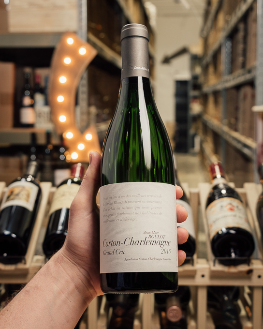 Jean-Marc Roulot Corton Charlemagne Grand Cru 2016  - First Bottle