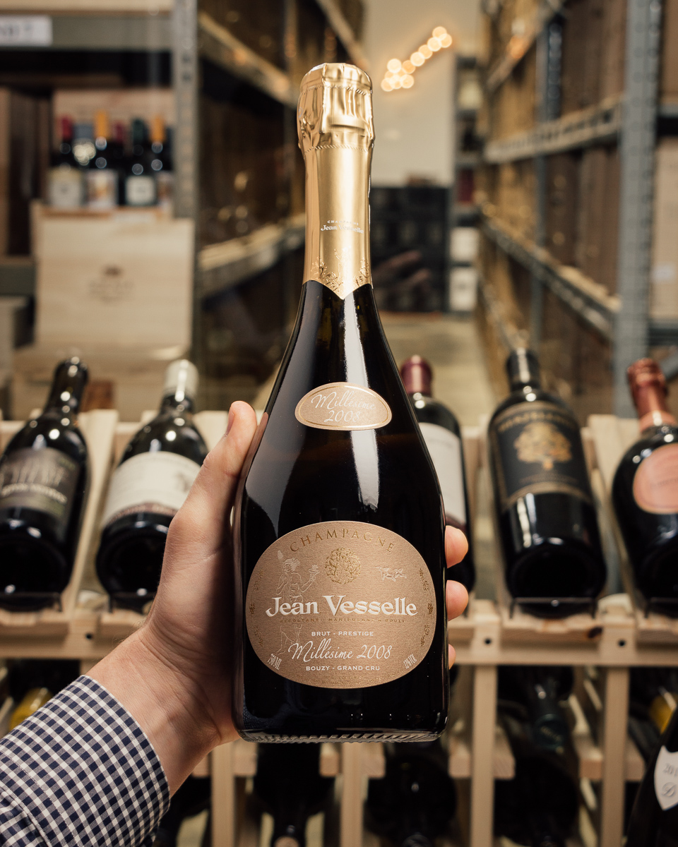 Jean Vesselle Brut Prestige Grand Cru 2008  - First Bottle