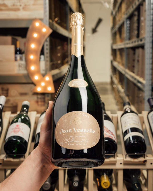 Jean Vesselle Brut Prestige Grand Cru Bouzy 2000 (1.5L Magnum)  - First Bottle