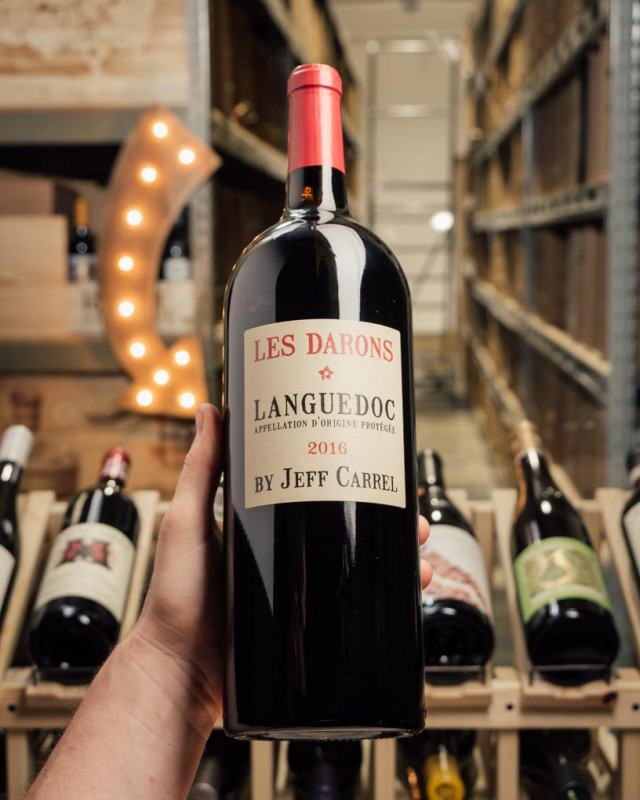 Jeff Carrel Languedoc Les Darons 2016 (1.5L)  - First Bottle