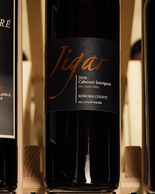 Jigar Cabernet Sauvignon Dry Creek Valley 2016