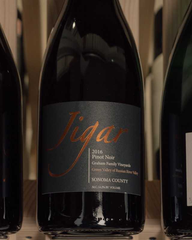 Jigar Pinot Noir Graham Vineyard Russian River 2016