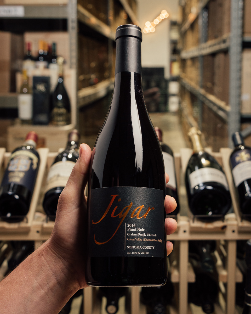 Jigar Pinot Noir Graham Vineyard Russian River 2016  - First Bottle