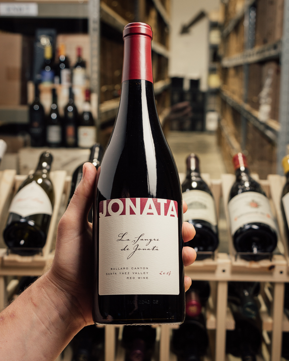 Jonata Syrah La Sangre de Jonata 2014  - First Bottle