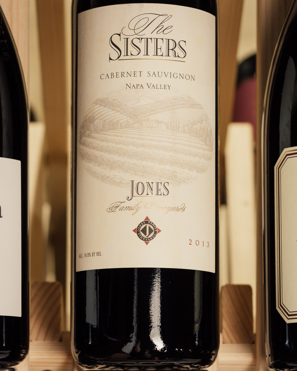 Jones Family Vineyard Cabernet Sauvignon The Sisters 2013  - First Bottle