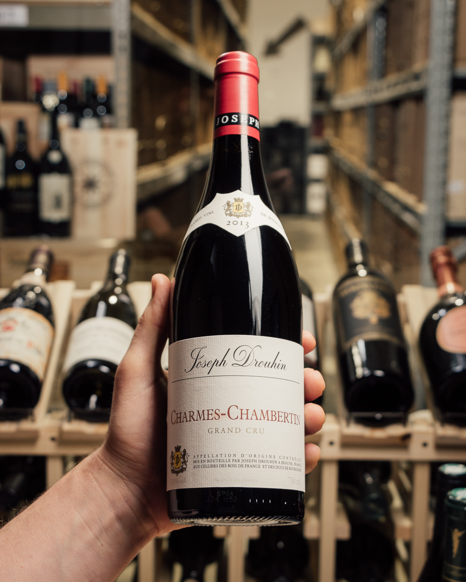 Joseph Drouhin Charmes Chambertin Rouge Grand Cru 2013  - First Bottle