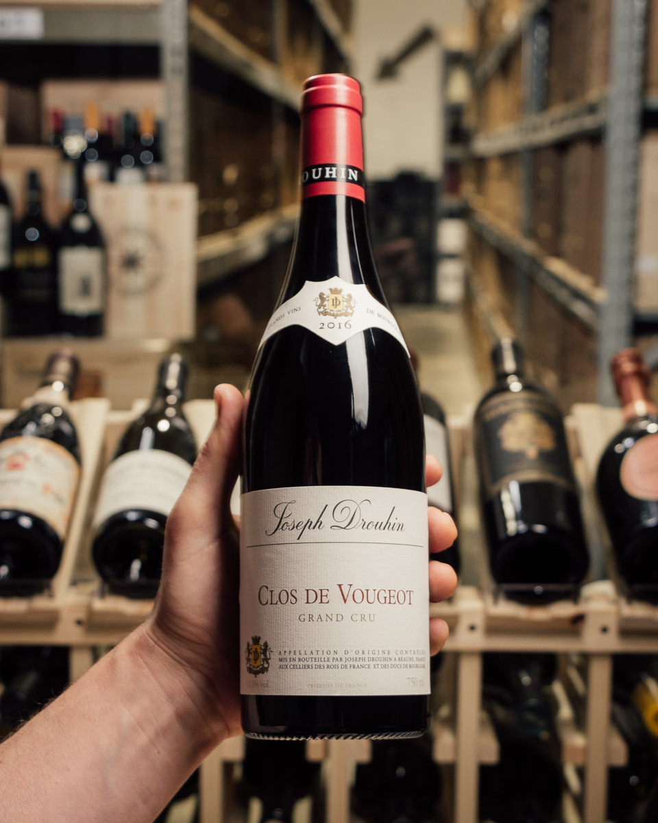 Joseph Drouhin Clos Vougeot Grand Cru 2016  - First Bottle