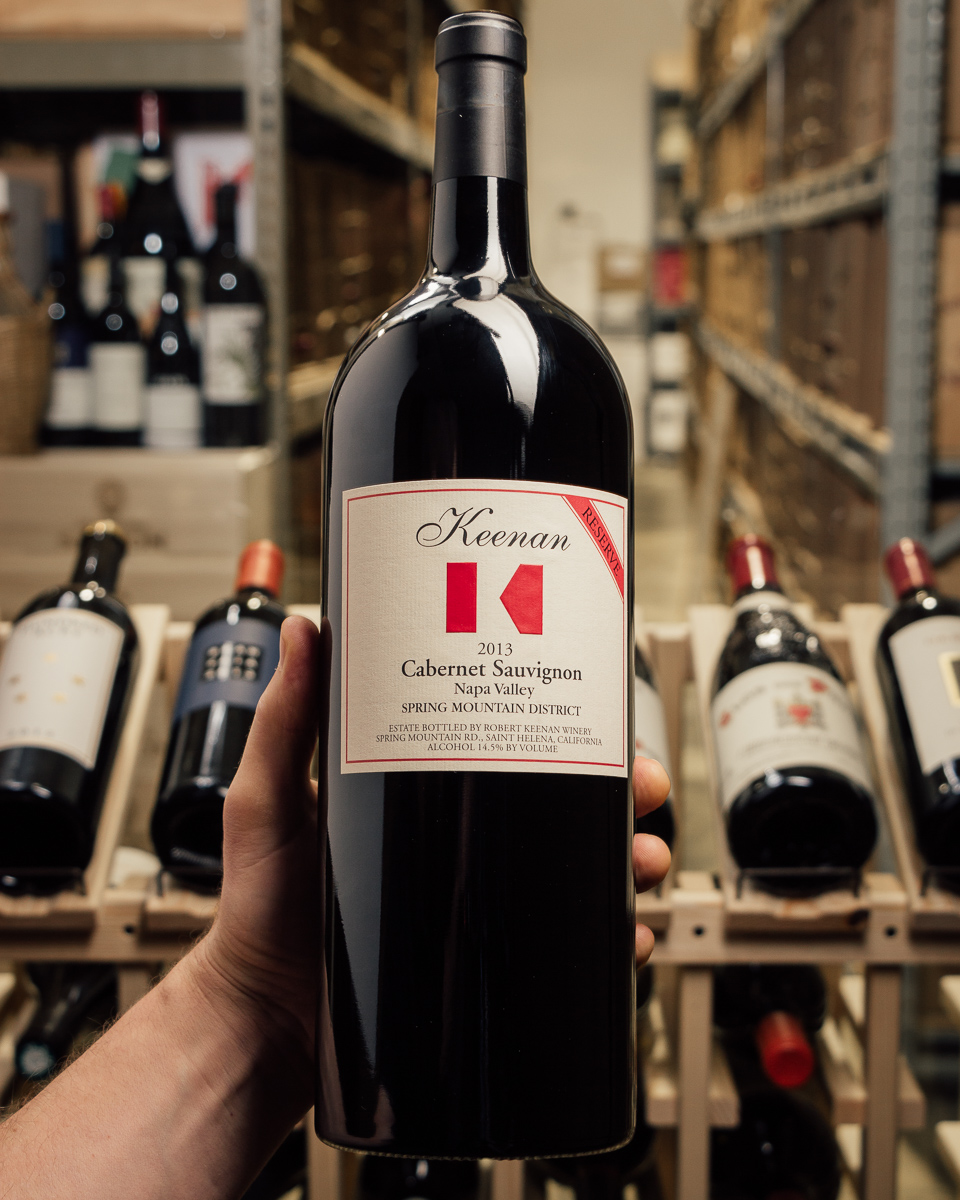 Keenan Cabernet Sauvignon Reserve Spring Mountain 2013  (1.5L Magnum)  - First Bottle