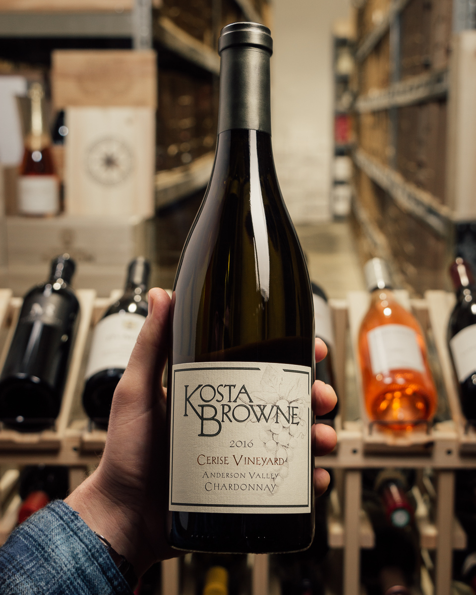 Kosta Browne Chardonnay Cerise Anderson Valley 2016  - First Bottle