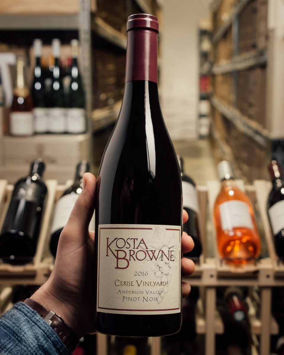 Kosta Browne Pinot Noir Cerise 2016  - First Bottle