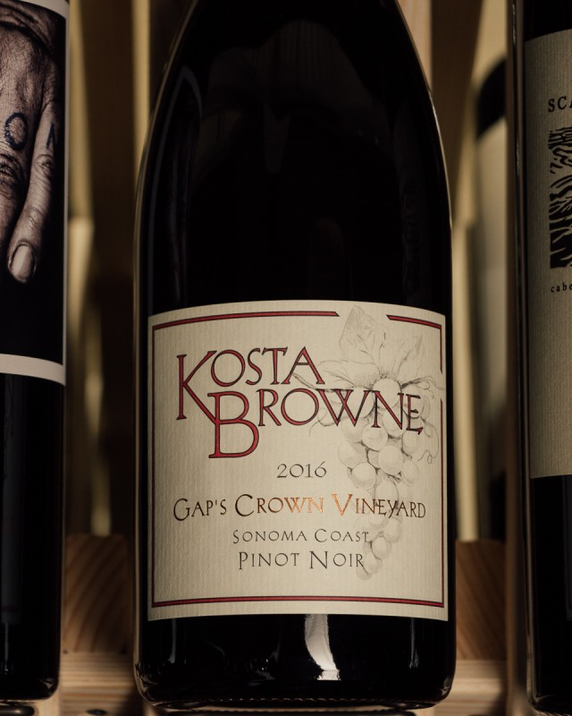 Kosta Browne Pinot Noir Gap`s Crown Vineyard 2016