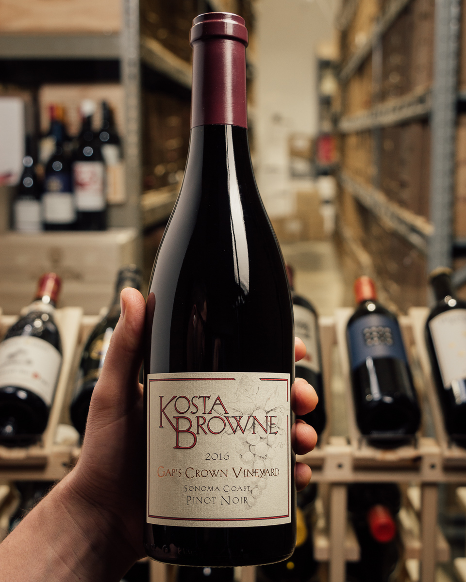 Kosta Browne Pinot Noir Gap`s Crown Vineyard 2016  - First Bottle