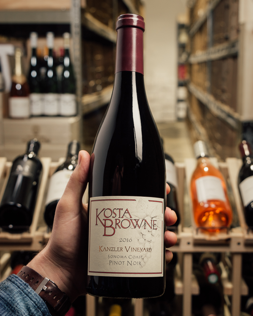 Kosta Browne Pinot Noir Kanzler 2016  - First Bottle