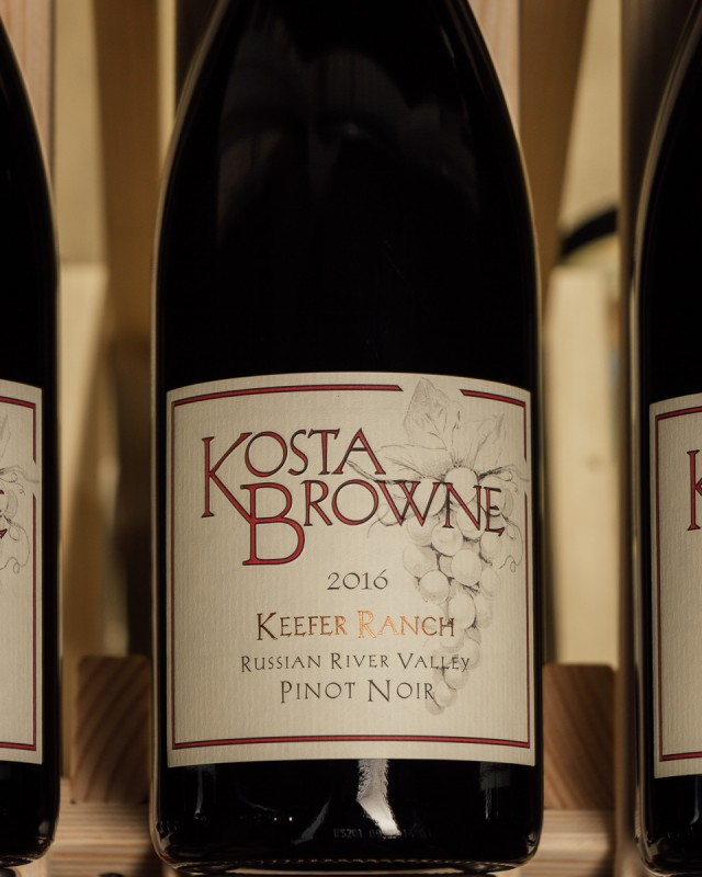 Kosta Browne Pinot Noir Keefer Ranch 2016