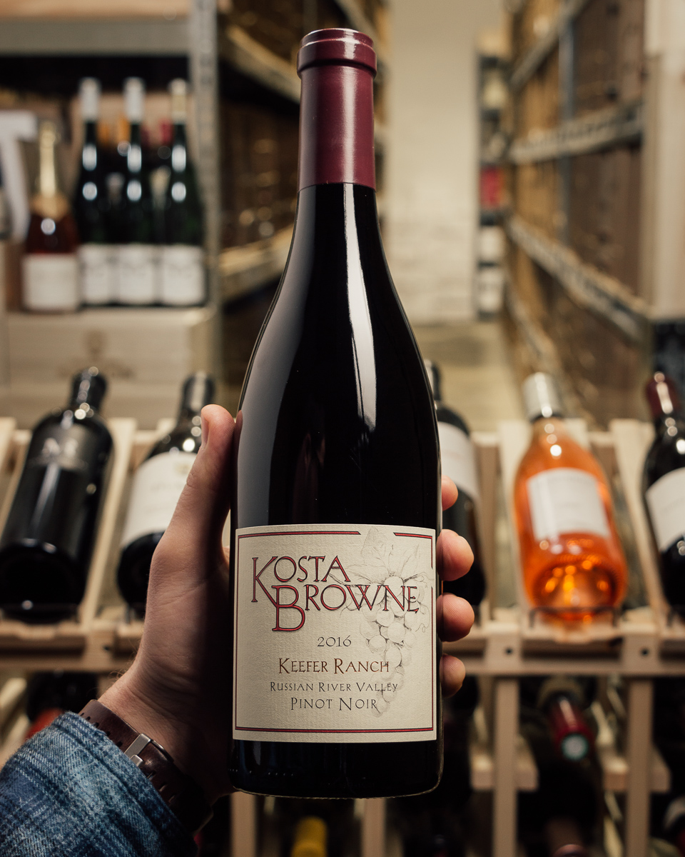 Kosta Browne Pinot Noir Keefer Ranch 2016  - First Bottle