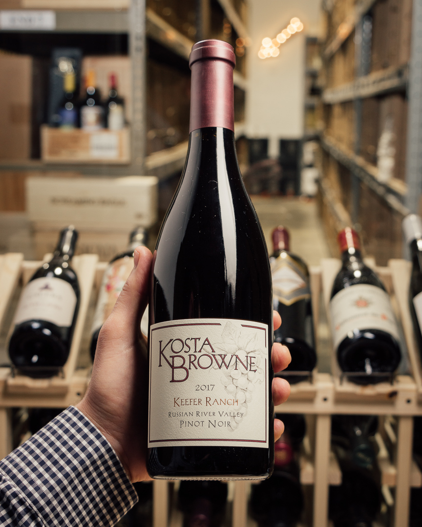 Kosta Browne Pinot Noir Keefer Ranch Russian River Valley 2017  - First Bottle