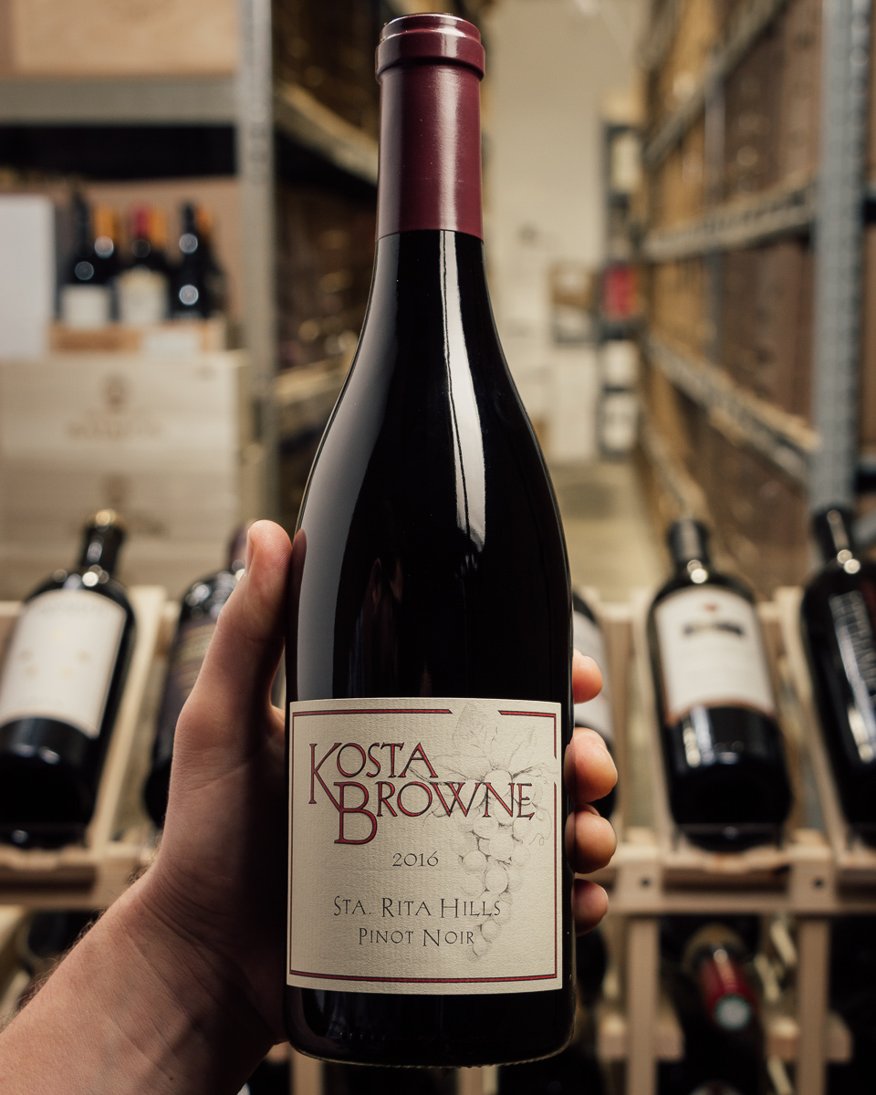 Kosta Browne Pinot Noir Santa Rita Hills 2016  - First Bottle