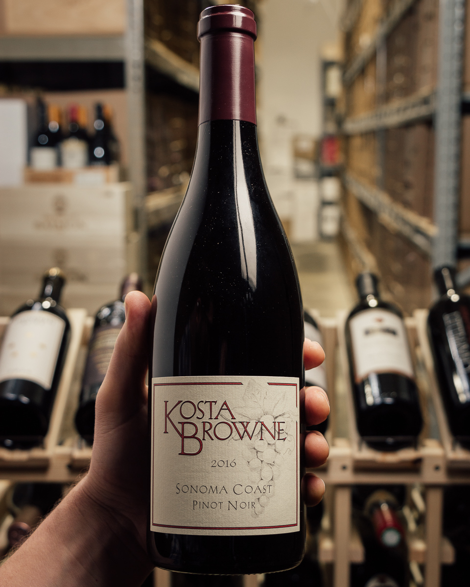 Kosta Browne Pinot Noir Sonoma Coast 2016  - First Bottle