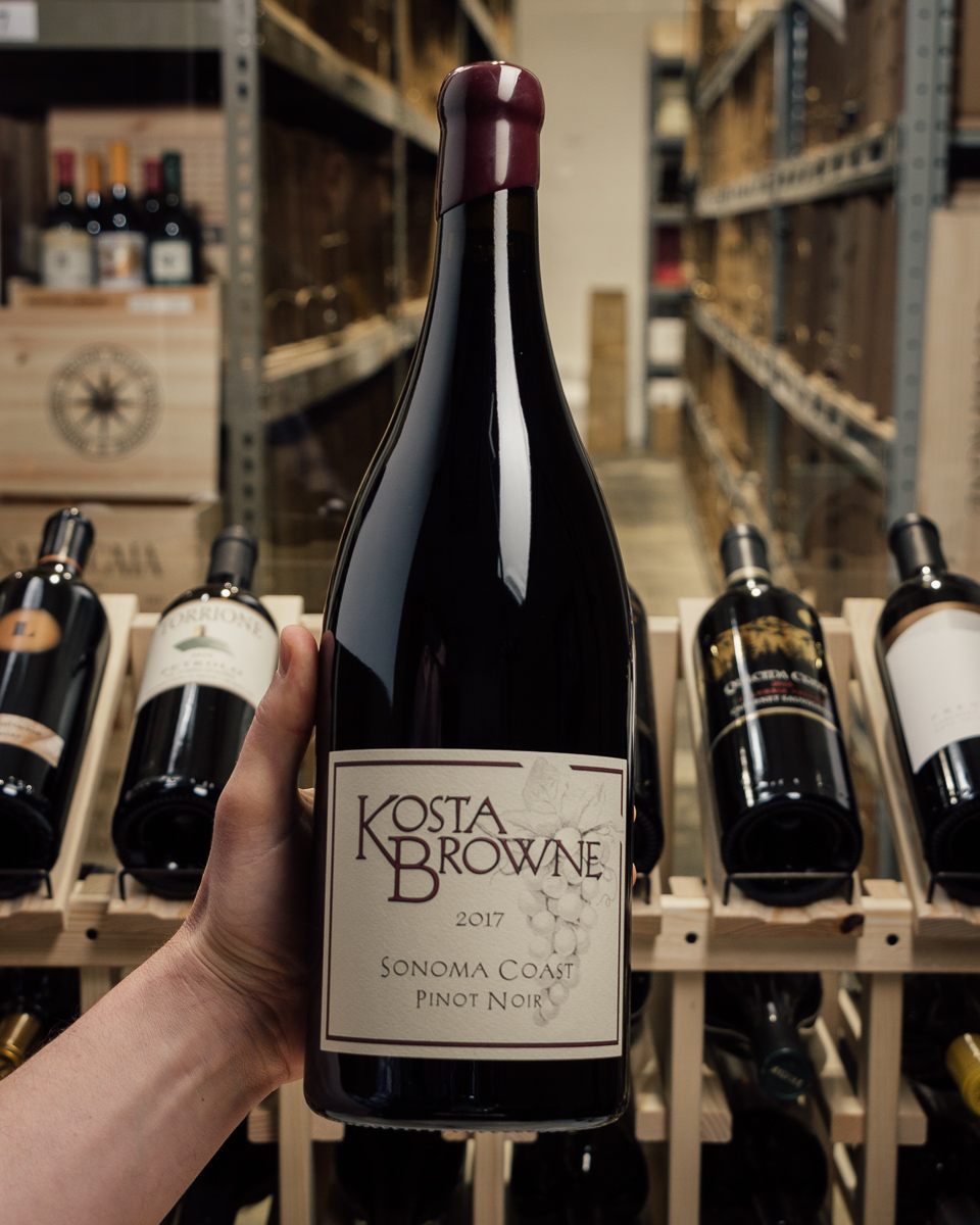 Kosta Browne Pinot Noir Sonoma Coast 2017 (Magnum 1.5L)  - First Bottle