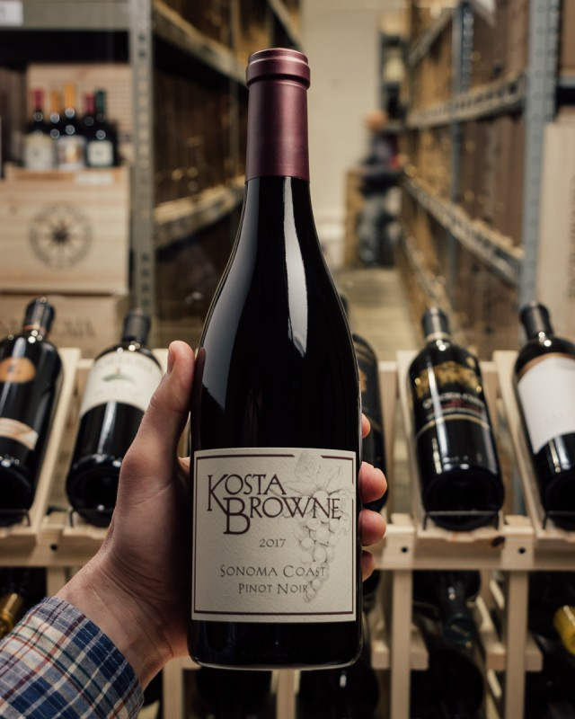 Kosta Browne Pinot Noir Sonoma Coast 2017  - First Bottle