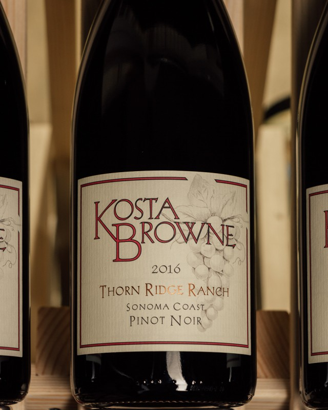 Kosta Browne Pinot Noir Thorn Ridge Ranch 2016