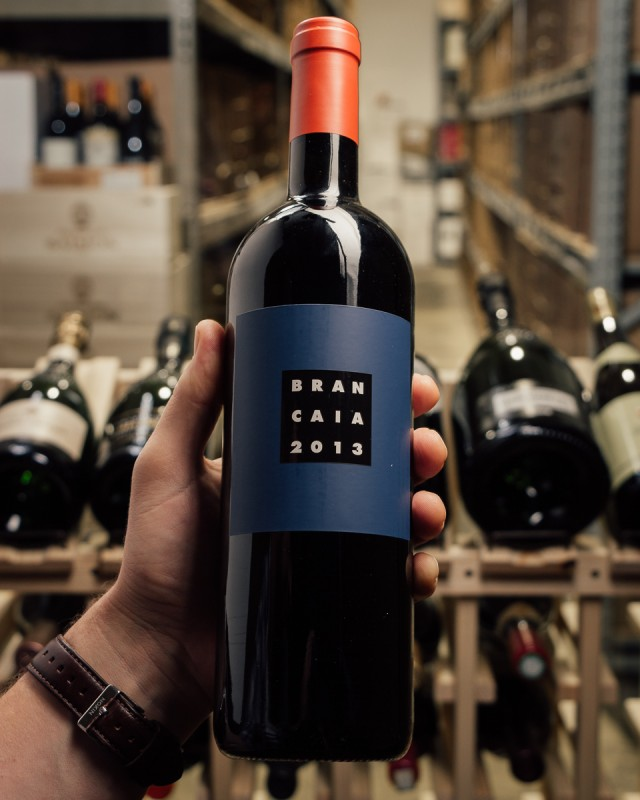 La Brancaia Il Blu Tuscany IGT 2013  - First Bottle