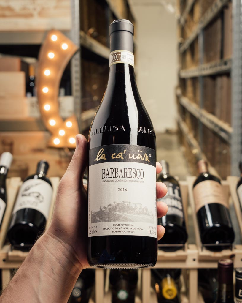 La Ca` Nova Barbaresco 2016  - First Bottle