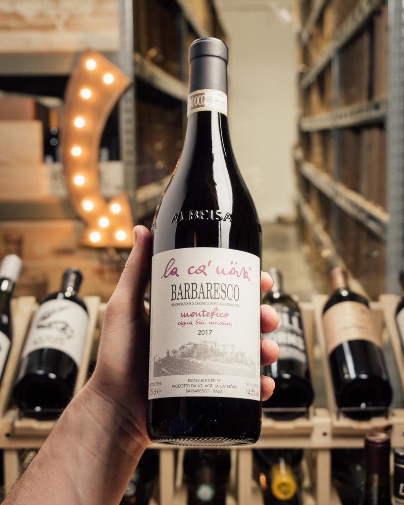 La Ca` Nova Barbaresco Montefico 2017  - First Bottle
