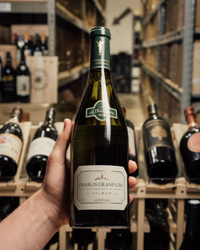 La Chablisienne Chablis Valmur Grand Cru 2014  - First Bottle