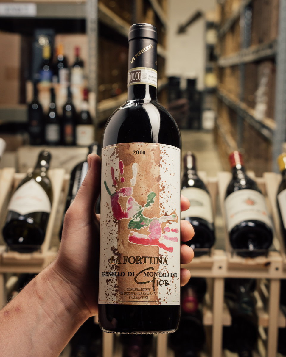 La Fortuna Brunello di Montalcino Giobi 2010  - First Bottle