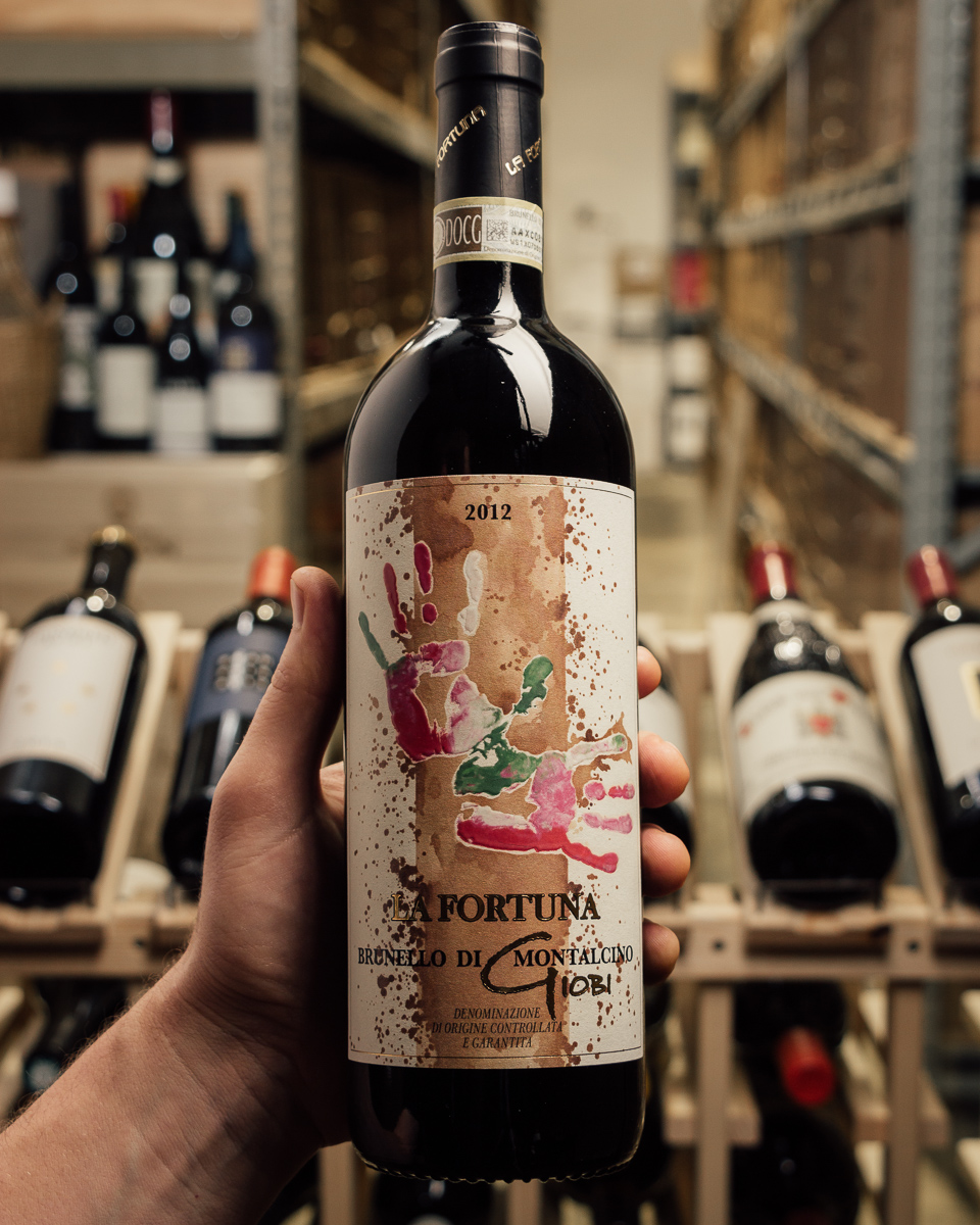 La Fortuna Brunello di Montalcino Giobi 2012  - First Bottle