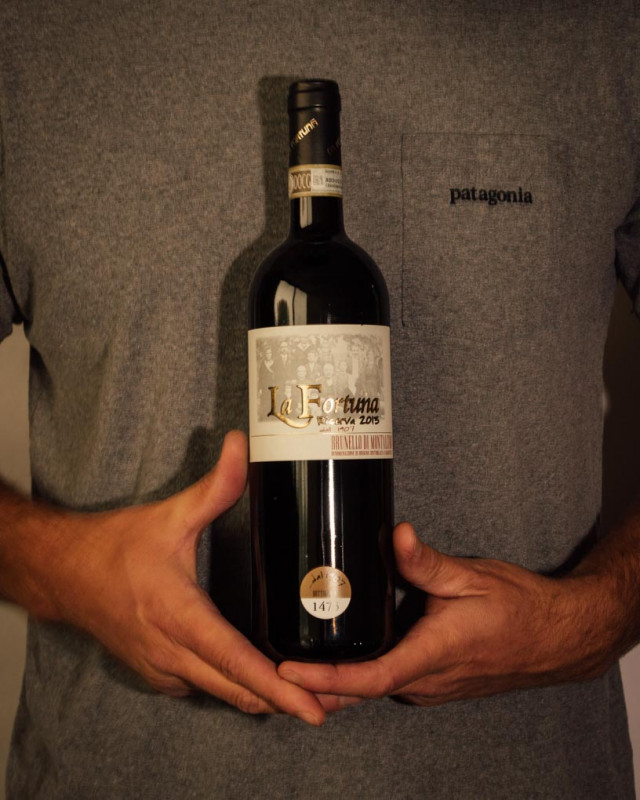 La Fortuna Brunello di Montalcino Riserva 2013  - First Bottle