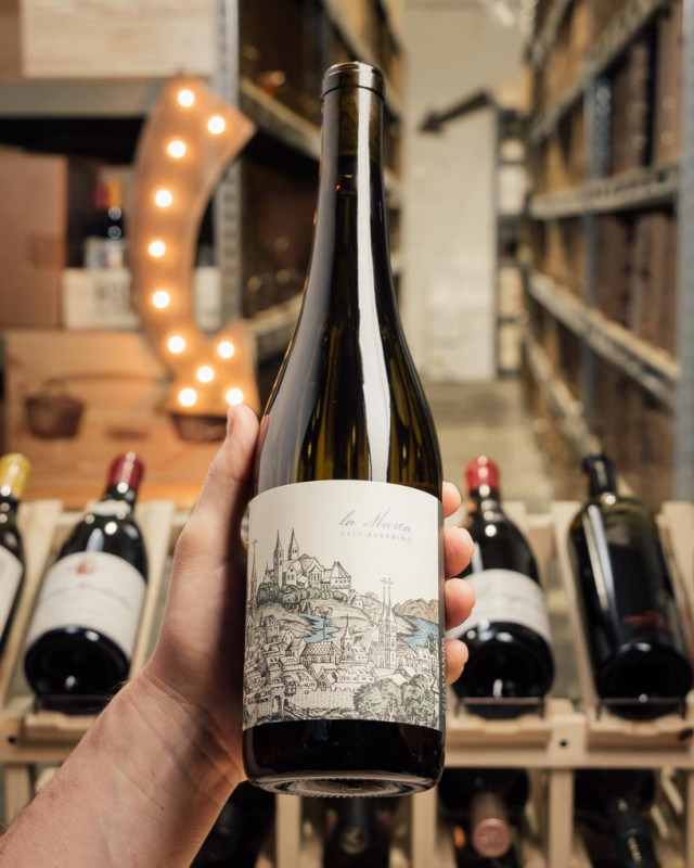 La Marea Albarino Kristy Vineyard 2019  - First Bottle