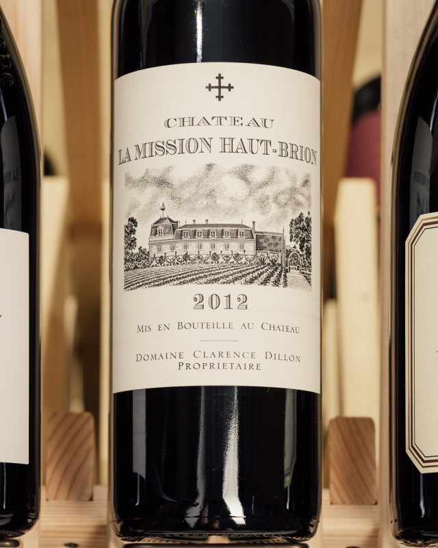 La Mission Haut Brion Pessac Leognan 2012  - First Bottle