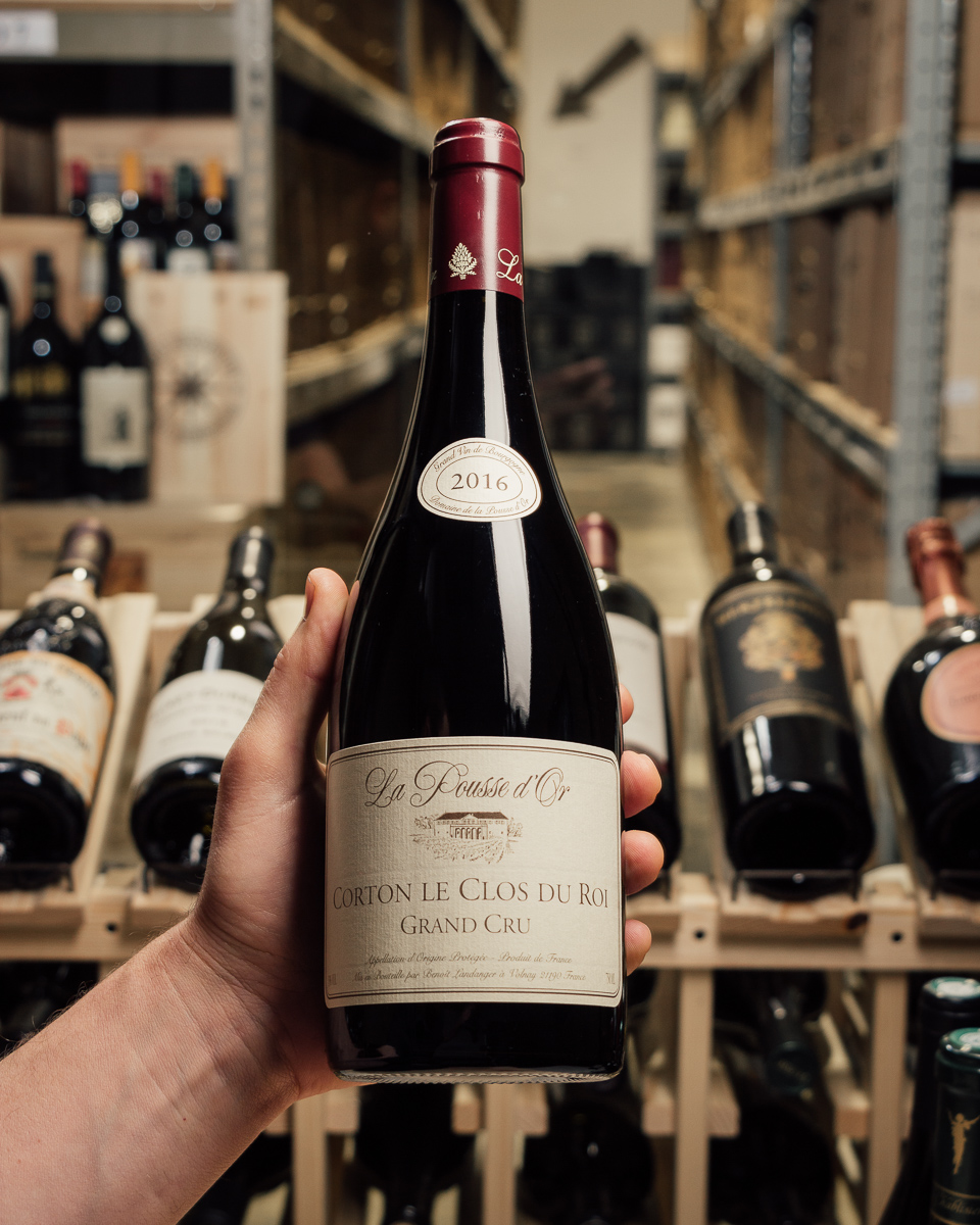 La Pousse d'Or Corton Clos Du Roi Grand Cru 2016  - First Bottle