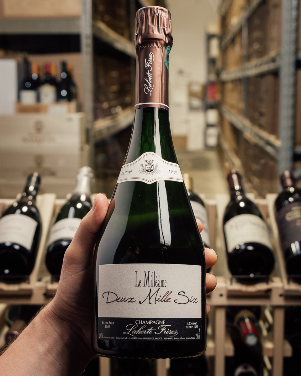 Laherte Freres Le Millesime Deux Mille Six Extra Brut 2006  - First Bottle
