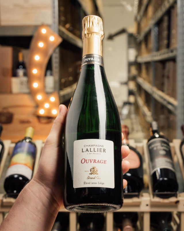 Lallier Ouvrage Grand Cru Extra Brut NV  - First Bottle