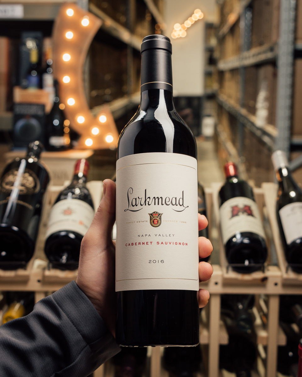 Larkmead Cabernet Sauvignon Napa 2016  - First Bottle