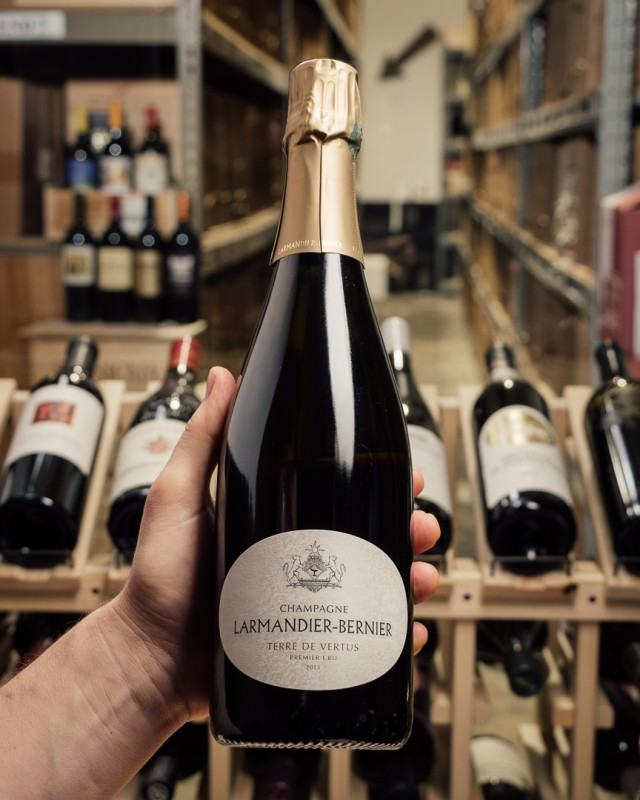 Larmandier-Bernier Blanc de Blancs Terre de Vertus Premier Cru Brut Nature 2013  - First Bottle
