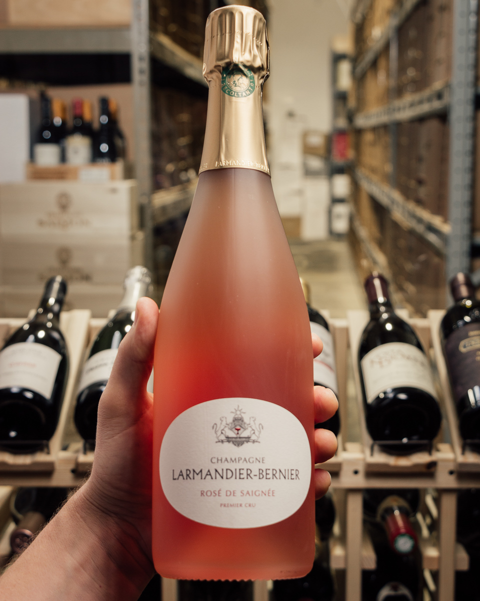 Larmandier Bernier Extra Brut Rose de Saignee NV  - First Bottle