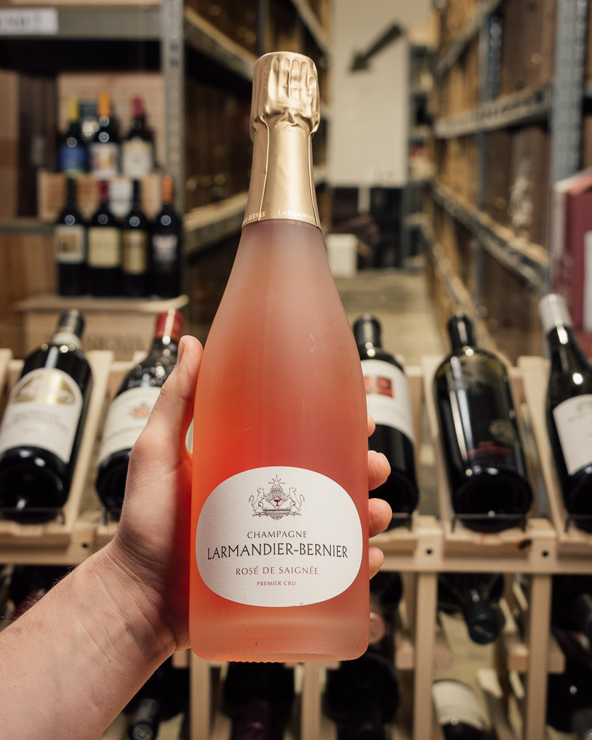 Larmandier Bernier Rose de Saignee Premier Cru Extra Brut NV  - First Bottle