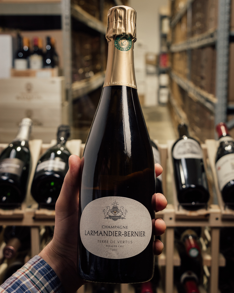 Larmandier Bernier Blanc de Blancs Terre de Vertus Brut Nature 1er Cru 2011  - First Bottle