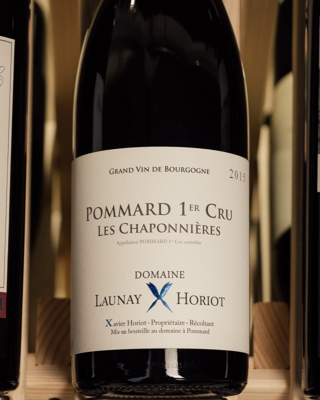 Launay Horiot Pommard Les Chaponnieres 1er Cru 2015