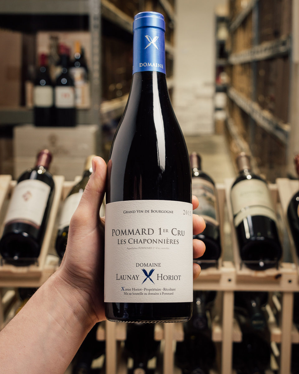 Launay Horiot Pommard Les Chaponnieres 1er Cru 2015  - First Bottle