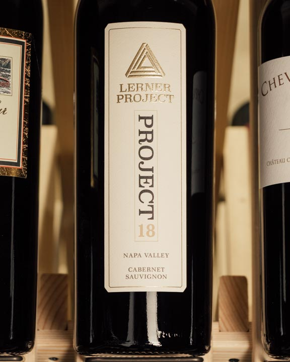 Lerner Project Cabernet Sauvignon Project 18 Napa Valley 2018  - First Bottle