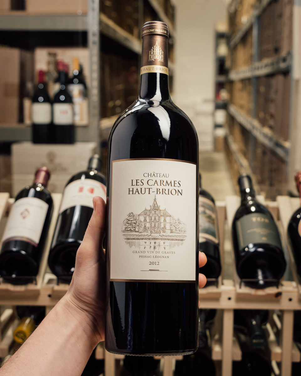 Les Carmes Haut Brion Pessac Leognan 2012 (Magnum 1.5L)  - First Bottle