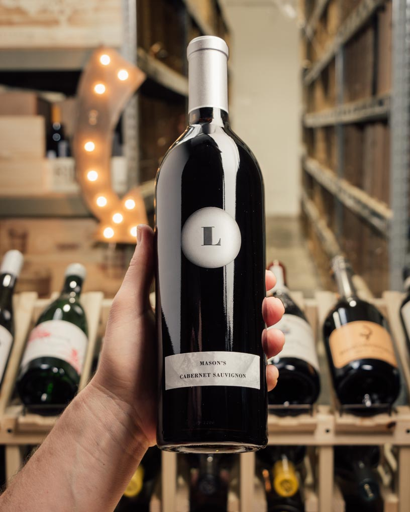 Lewis Cabernet Sauvignon Mason's 2018  - First Bottle