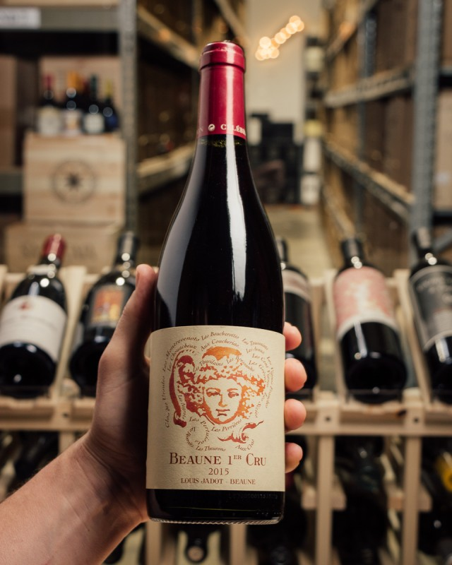 Louis Jadot Celebration Beaune 1er Cru 2015  - First Bottle