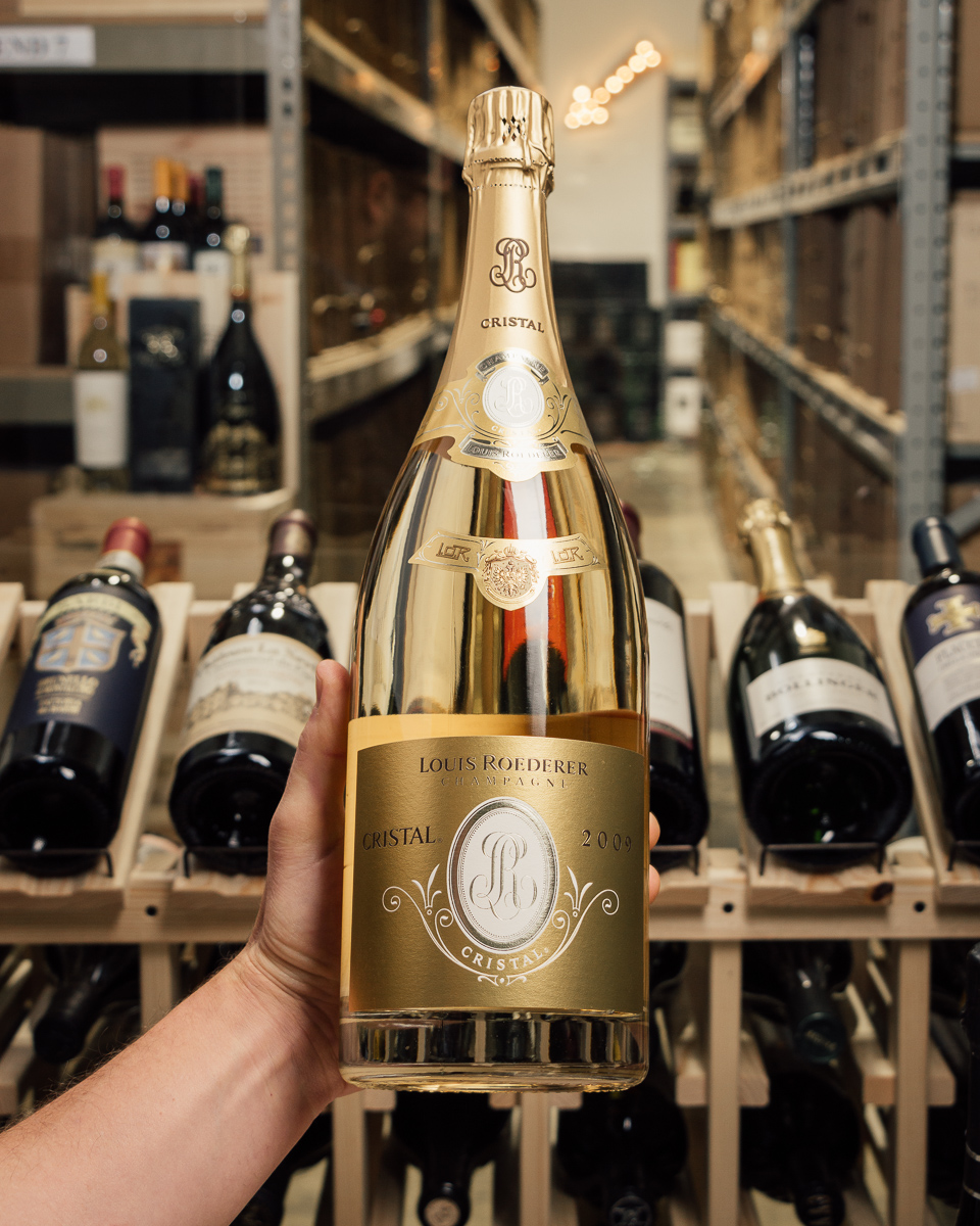 Louis Roederer Champagne Cristal Brut 2009 (Magnum 1.5L)  - First Bottle