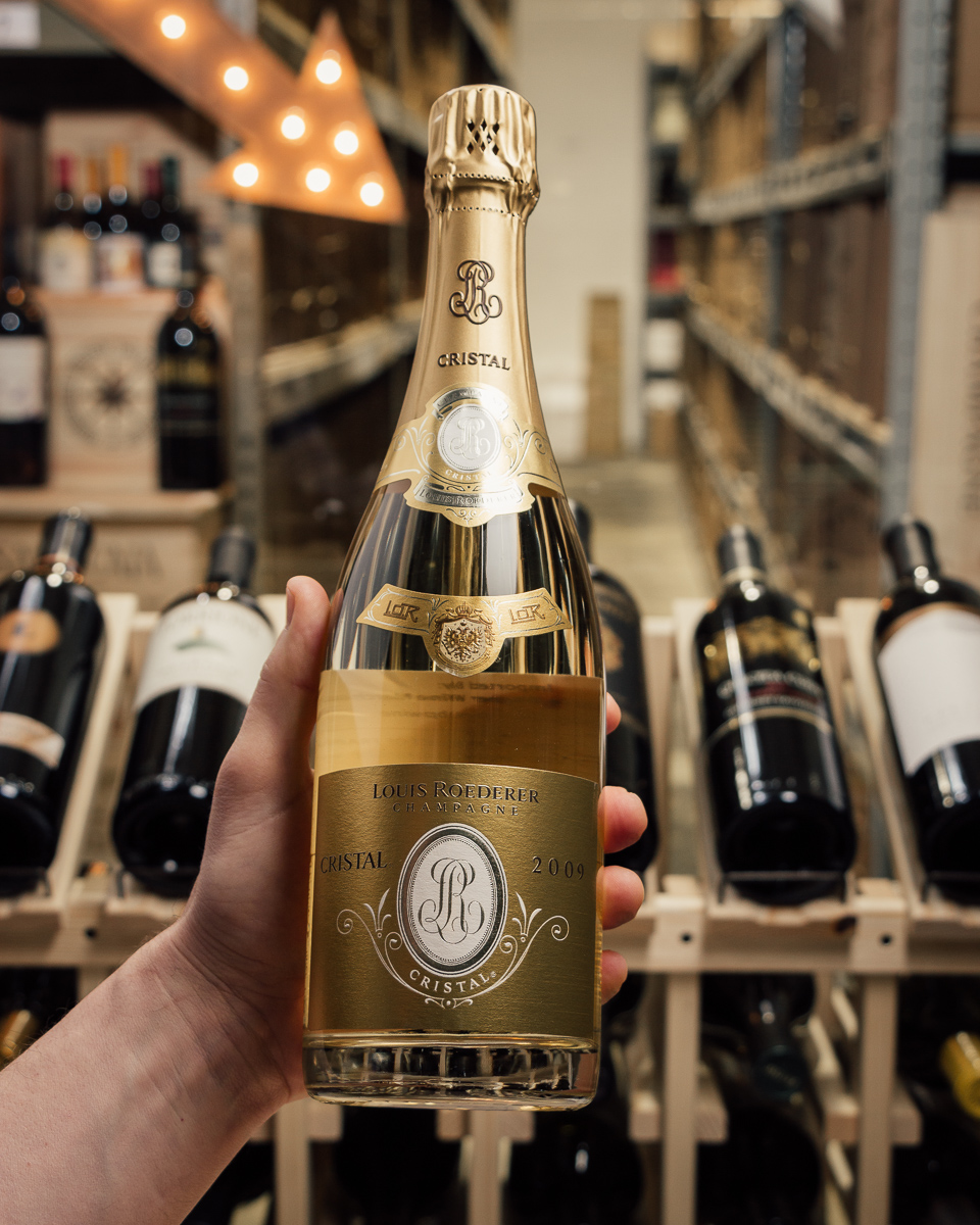 Louis Roederer Champagne Cristal Brut 2009  - First Bottle